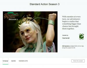 Standard Action season 3